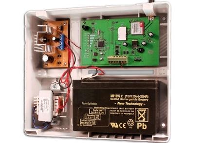 G2K8 transmisor GPRS/SMS con gabinete y fuente - Alarmas, Sistema de Alarmas