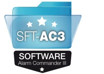 SFT-AC3 Alarm Commander III Software de programación - Alarmas, Sistema de Alarmas